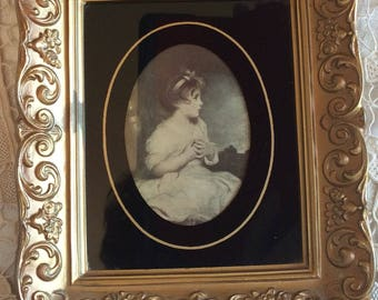 Joshua Reynolds small frame art reproduction The age of innocence