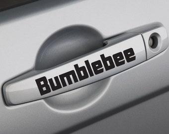 FUN STICKERS, bumblebee car decals x 2