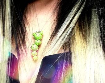Statement Necklace, Festival Jewelry, Swarovski Crystal, Festival Necklace, Festival Gear, Festival Accessories, Rave, Rave Wear, EDC, EDM