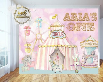 PRINTABLE Carnival Pink, Pink Circus Backdrop, Candy Table Backdrop, Photo Backdrop, Step and Repeat, Pink Carnival
