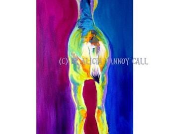 Fawn, Forest Animal, DawgArt, Deer Art, Art, Fawn Painting, Fawn Art, Pet Portrait Artist, Art Prints, Forest Wildlife Art