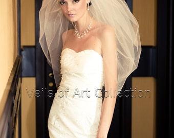 DIY Wedding Veil Pattern 2T Bubble Elbow Bridal Wedding Veil
