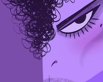 Prince, 11x17 print