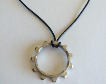 Bike Gear Necklace