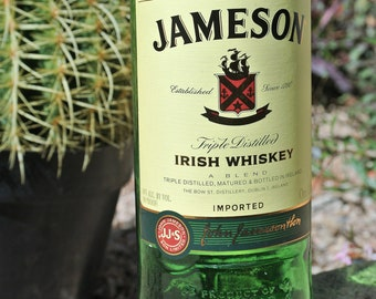 Jameson Vase / Flower Vase / Whiskey Gifts / Liquor Bottle / Gift For Her / Bottle Decor / Jameson Whiskey Bottle / Irish Whiskey