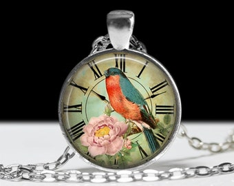 Bird Jewelry Bird Pendant Wearable Art Bird Pendant Charm