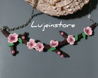 Sakura Cherry Blossom necklace.