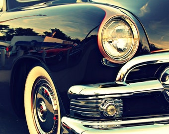 Classic Ford Car in Detroit - Fine Art Photographic Print