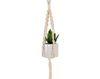 Mini Macrame Plant Hanger, Cotton
