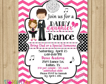 Father daughter dance invitation dance party invitation father daughter dance invitation dance party invitation dance birthday invitation daddy daughter dance invitation stopboris Images