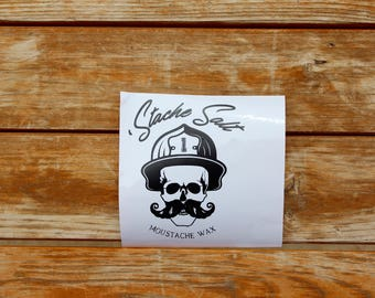 5 Inch Original Stache Salt Decal