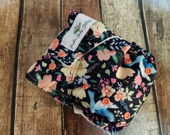 One Size Pocket Cloth Diaper Lovey Dovey 15-40 lbs PUL