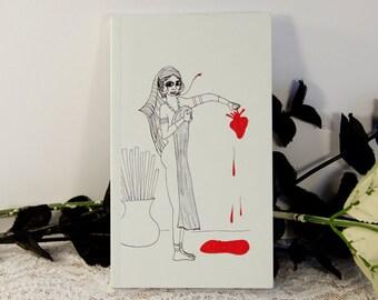 Man Eater Pocket Notebook: Snake Lady