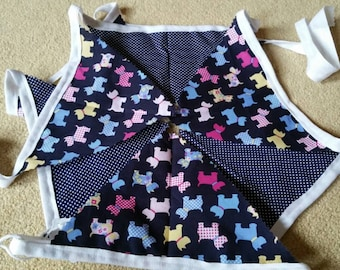 Scottie Dog Bunting, Bunting, Scottie Dog gift, mothers day, westie, Dog gifts
