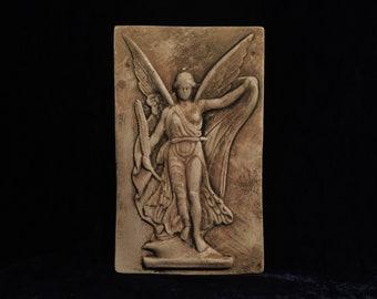 Vintage Greek Goddess Nike Bas Relief