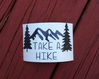 Hiking Decals | Hiking Stickers | Trail Decals | Trail Stickers | Outdoor Decal | Hiking Sign | Gift For Hiker | Hiker Sticker