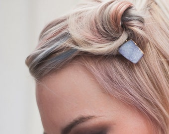 Druzy Quartz Hair Pin - Boho Bobby Pin - Featured on Etsy Finds