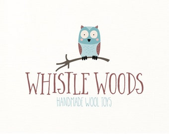owl logo forest woodland animals nature - Logo Design #604