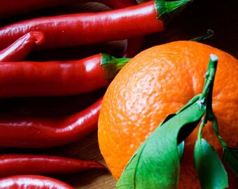 Sweet Orange Chili Pepper Scented Wax Melts