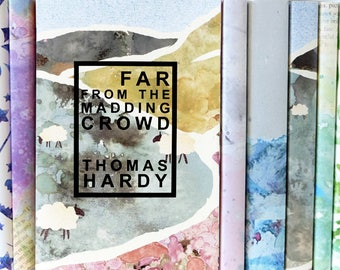 Far From The Madding Crowd - Thomas Hardy - Exclusively Designed Book Cover - Book Lover Gift - Book Shelf - Literary Gifts - Fiction
