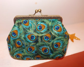 Decorative handmade wallet