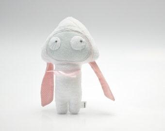handmade plush, Uszatka, stuffed animal, toy for children