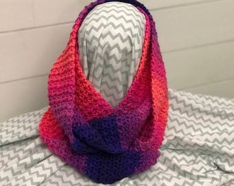 Infinity scarf - One Size - Hand Crocheted