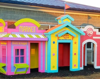 Fun Village by Imagine That Playhouses!