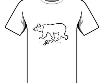 Handmade Bear T-shirt