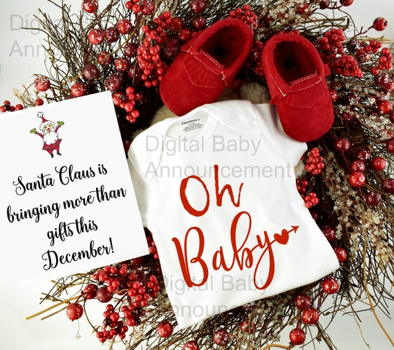 Social media Baby Announcement