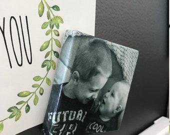 Photo Wrapped canvas, mini magnet, canvas magnet