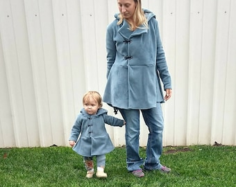 Luca Jacket Mommy and Me Bundle PDF Sewing Pattern