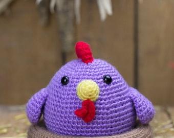 Crochet pattern - Piki the hen by Tremendu - amigurumi crochet toy, PDF digital pattern