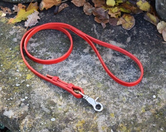 "1 m ""Equestrian"" Leather Dog Leash - size S"
