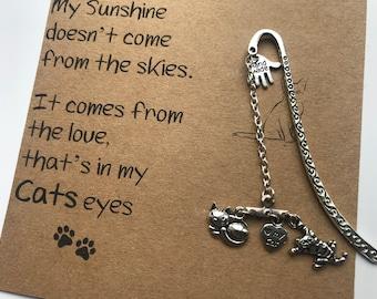 Cat Lovers Bookmark