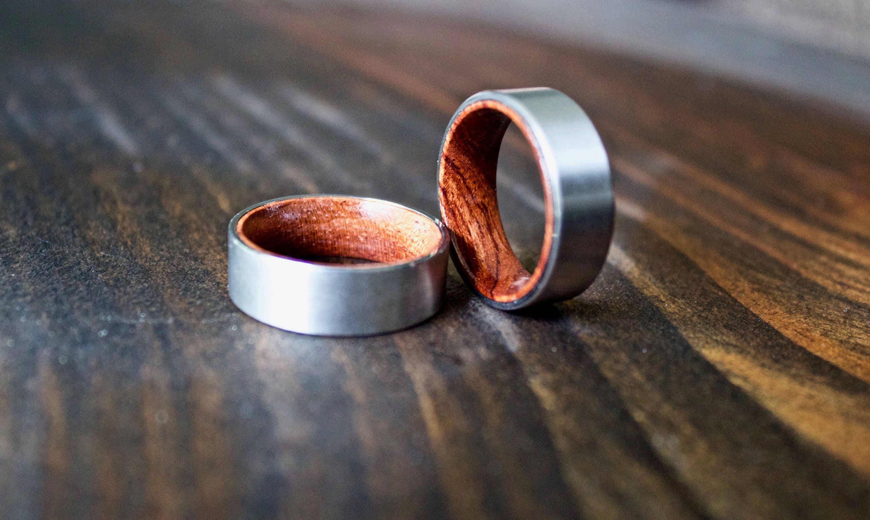 Mens Wood Ring Wooden Ring Mens Wooden Ring Wood ring Koa Wood