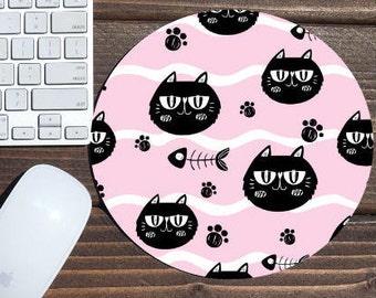 mouse pad / mousepad / cat mouse pad / cat / mouse mat / office decor / cat mousepad / custom mouse pad / desk accessories / custom mousepad