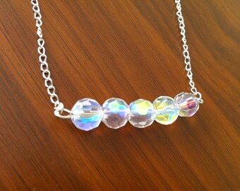 Sparkly Necklace - Bridesmaid necklace gift