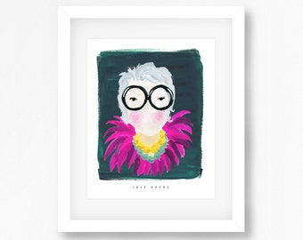 Iris Apfel Print