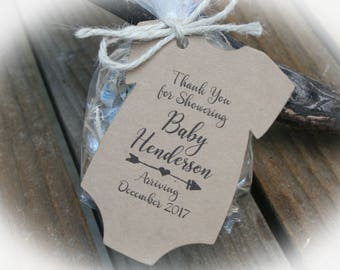 Greatest Adventure Baby shower Favor | Arrow Baby Shower Favor Tags | Baby Shower Favor Tags ONLY or kits with Bags & Twine |- OFT-101