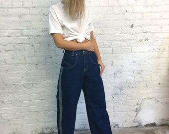 vintage 90s phat pants raver jeans / old school hip hop rave 1990s pants