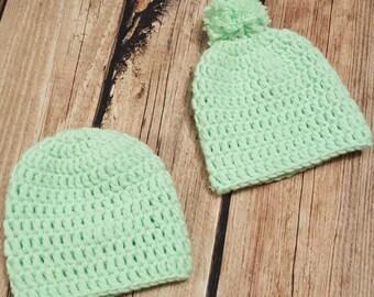 Newborn Baby Hat Set