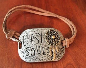 Gypsy Soul Suede Braclet