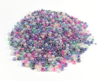 Tiny Round Beads - Mix Color - 2-3 mm