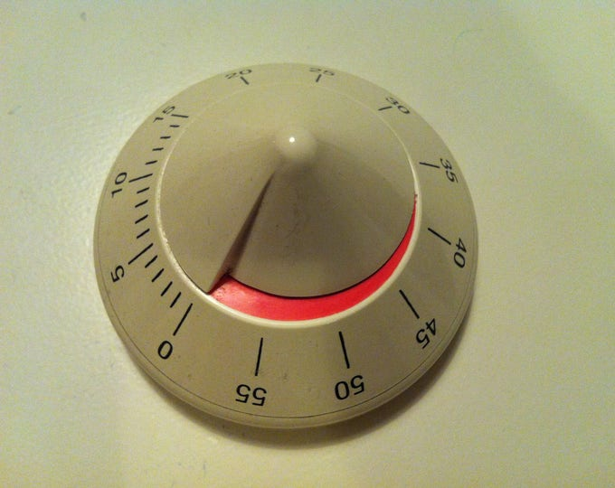 Vintage Space Age Eggtimer Pyramide Made in Italy