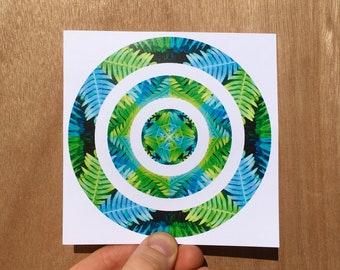 Surreal Ferns - Print