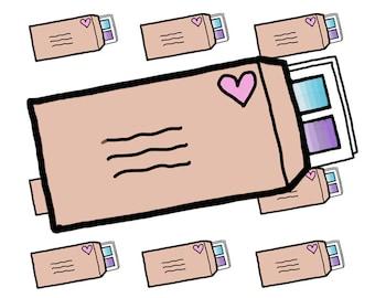 Digital Download - Happy mail stickers