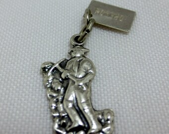 GOLD DIGGER from OREGON Sterling Silver Charm or Pendant