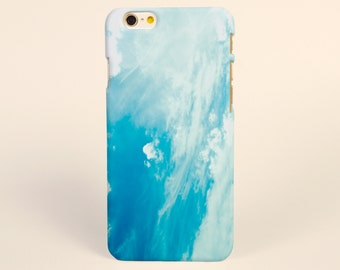 Blue Sky art iPhone 8 case, iPhone X case, iPhone 7 plus case, iPhone 6s case tough case samsung galaxy s8 case, samsung galaxy note 8 case