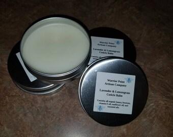 Organic Cuticle Balm: Lavender & Lemongrass